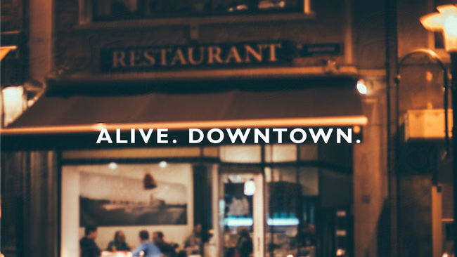 alive downtown off